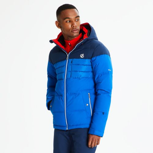 Men's Connate Quilted Ski Jacket Oxford Admiral Blue